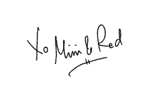 mimi and red signature
