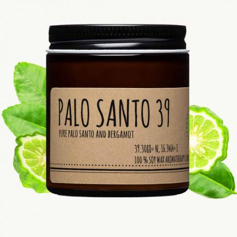 palo santo and bergamot candle 4oz