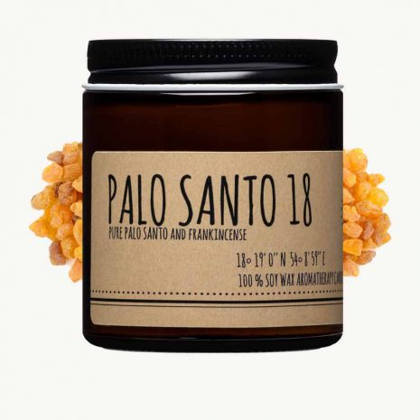 Palo Santo and Frankincense Candle