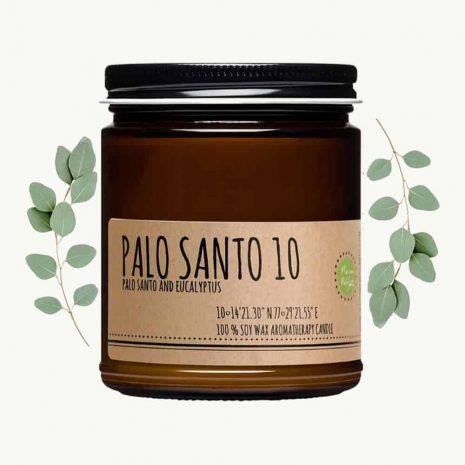 Palo Santo and Eucalyptus Candle